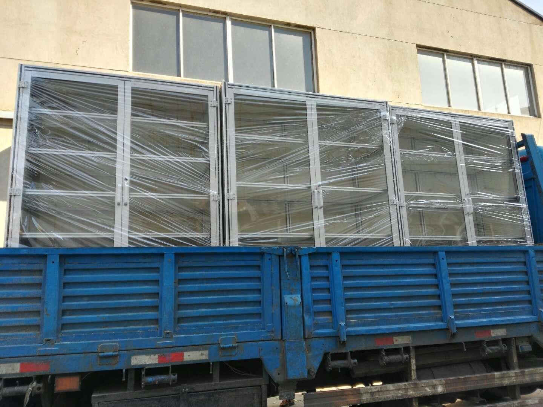 为客户定制的工业铝型材文件柜发货